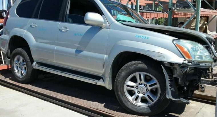 AC Compressor Front And Rear AC Fits 03-09 LEXUS GX470 147381