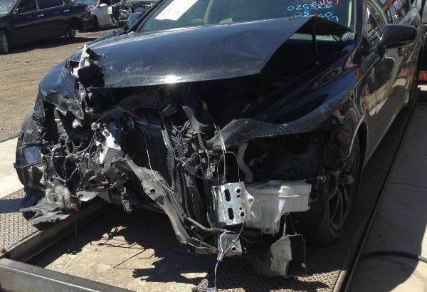 Chassis ECM Seat Belt Fits 07-12 LEXUS LS460 125948