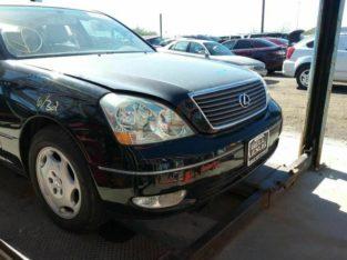 Driver Left Front Window Regulator Fits 01-06 LEXUS LS430 145589