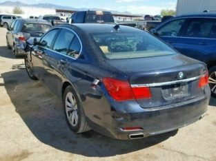 Automatic Transmission From 7/11 Fits 12 BMW 740i 1136890
