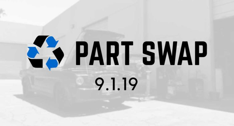 Part Swap September 2019