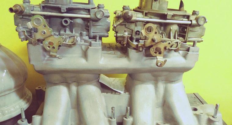 69-70 BOSS302 Mustang Intake & Pistons