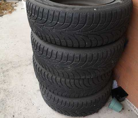 Ford fusion 2005 model car steel rim with new tires (4 tires)