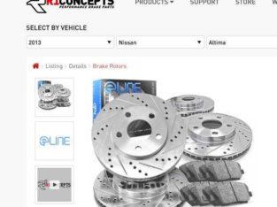 2013 Nissan Altima Rotors and Brake Pads