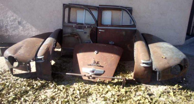 1947 Lincoln Continental Zephyr Sedan