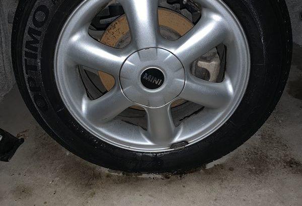 Mini Cooper Rims with Tires 175/65/15