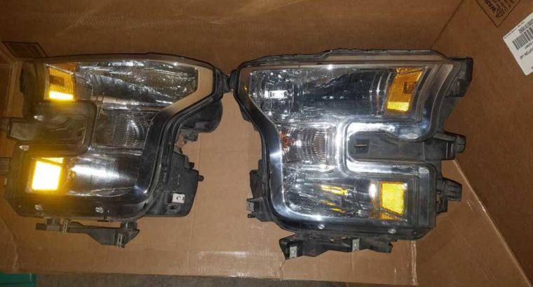 2017 F150 Headl lights
