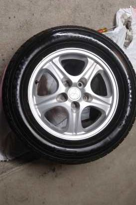 Set of Rims & Tires  Michelin 225/60/16