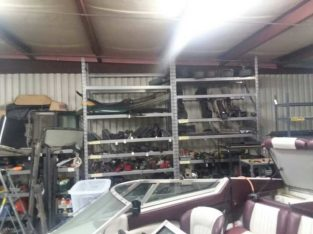 Multitude of car parts
