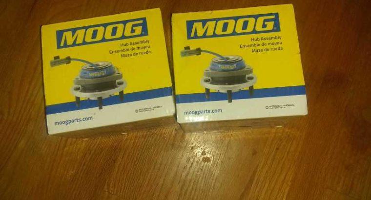 2 rear Moog hub assembly's 07 exterra