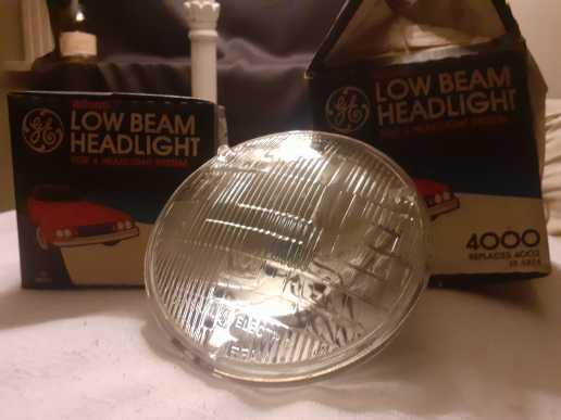 Vintage Headlights for 4-Way Headlight System