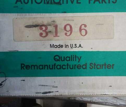 1993-'94 Ford Escort 1.6L L4 Refurbished Starter