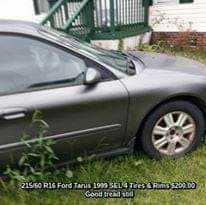 1999  1999 Ford Tarus Driver Door PASSENGER 2 REAR DOORS